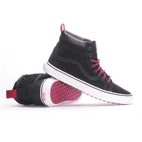 sk8 shoes vans sk8 hi mte black beet s skate shoes
