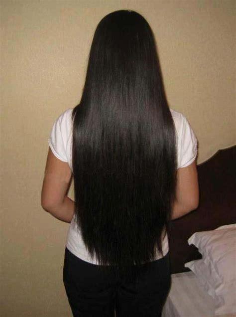 rambut panjang  indah beautiful long hair