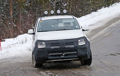 volkswagen winter 2017 volkswagen amarok spied testing in winter conditions