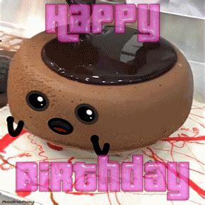 birthday cake chocolate gif  gifer  gavinrawield