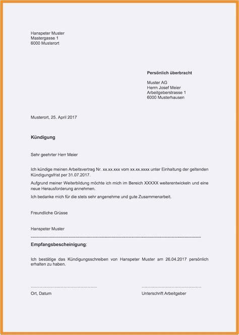 kuendigung mietvertrag vorlage zamzambar