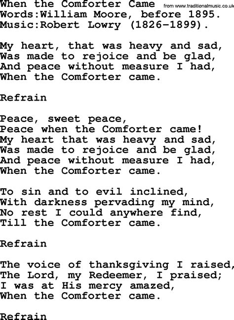 28 Holy Spirit Be My Comforter Lyrics Best Ideas