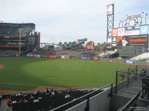 san francisco section at t park section 152 san francisco giants