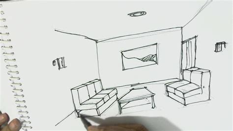 home design for beginners 28 images how to do nail how to draw interior view of room one point perspective