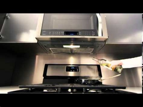 Whirlpool Over the Range Microwave ? Auto Adapt Fan   YouTube