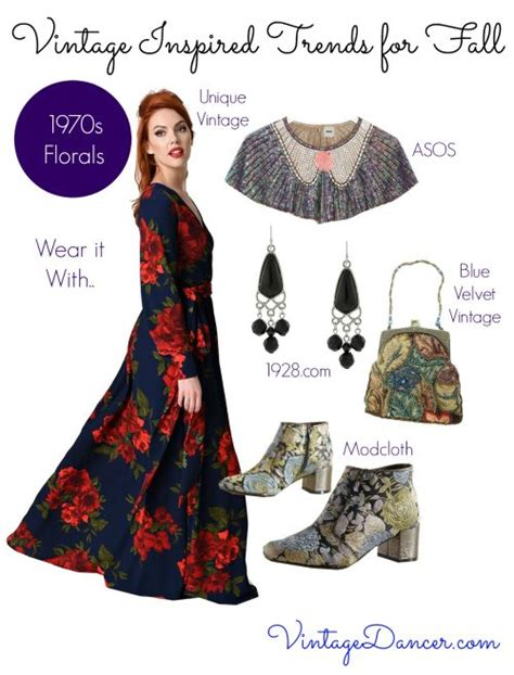 vintage inspired fashion trends for fall
