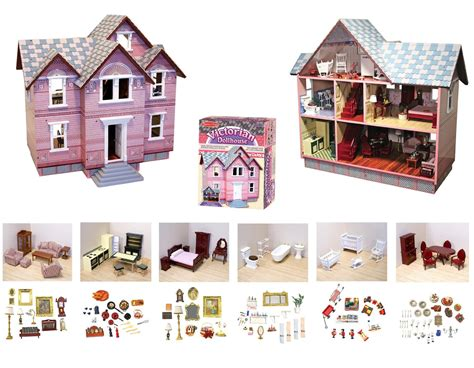 melissa and doug victorian doll house amazon melissa doug classic heirloom victorian doll