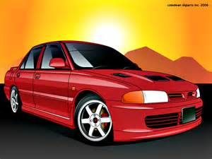 Proton Wira Gsr Proton Wira To Lancer Gsr By Hafisidris On Deviantart