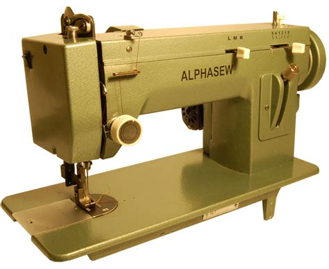 How To Sew Vinyl Upholstery Alphasew Pw400zz Portable Zigzag Walking Foot Machine