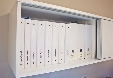 how to organize a file cabinet system binder organization system the final project is really