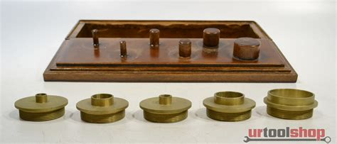 brass router template guide bushing set 5362 164 ebay