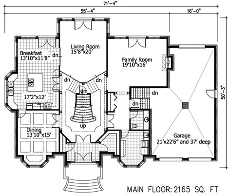 house plans with sunken living room sunken living room 90018pd 2nd floor master suite cad available canadian