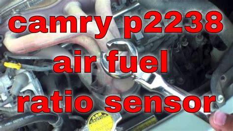 replace air fuel ratio sensor p toyota camry