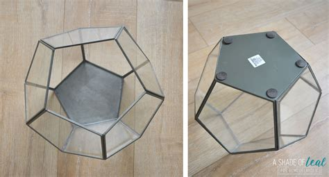 geometric pattern hanging light remodelaholic terrarium to geometric pendant light