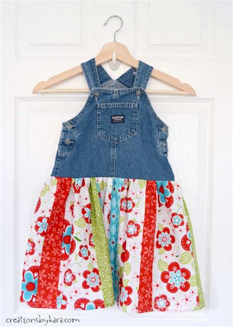 denim jumper twirl skirt tutorial creations by kara