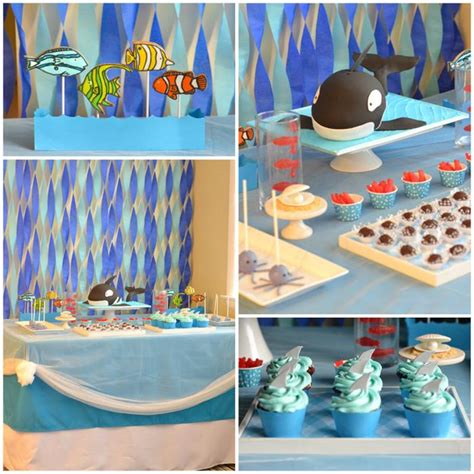 The Sea Birthday Decorations by Kara S Ideas The Sea With Lots Of Really