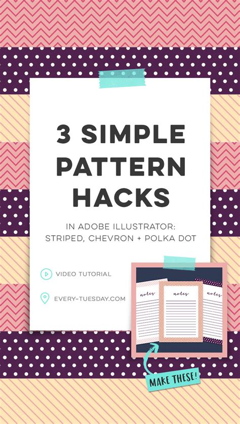 adobe illustrator change pattern size 3 simple pattern hacks in adobe illustrator striped