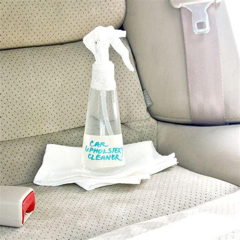 cleaner for car upholstery diy car upholstery cleaner popsugar smart living