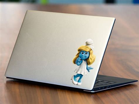Aufkleber Notebook by şirinler Notebook Sticker Stickerim