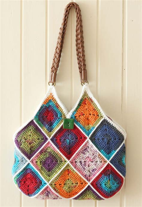 Line Pattern Bag free pattern squares bag a creative being