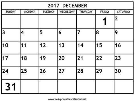 printable calendar december 17 17 best images about printable 2017 calendar on pinterest