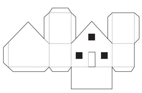 doll houses com домик из картона своими руками шаблоны на