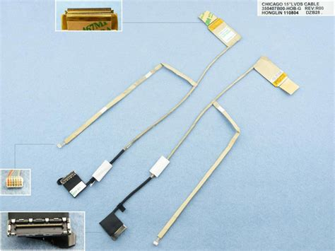 Kabel Cable Hp Compaq Cq43 Hp 430 431 435 436 lcd flex kabely pro notebooky
