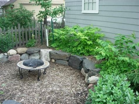 Mulch Patio by How To Build A Material Patio