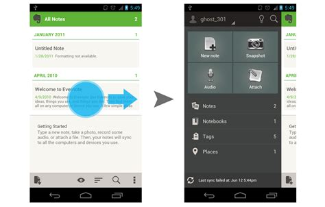 html layout side menu side navigation ui pattern in android androiduiux