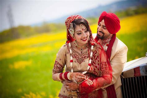 wedding in punjabi 10 beautiful punjabi couples wedding photography web