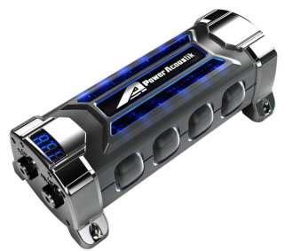 power acoustik neon digital capacitor 5 0 farad 20 24 power acoustik pcx 5f 5 0 farad digital capacitor cap on popscreen