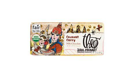 Cocolate Milk Bar 45 Gr theo coconut curry 45 milk chocolate bar