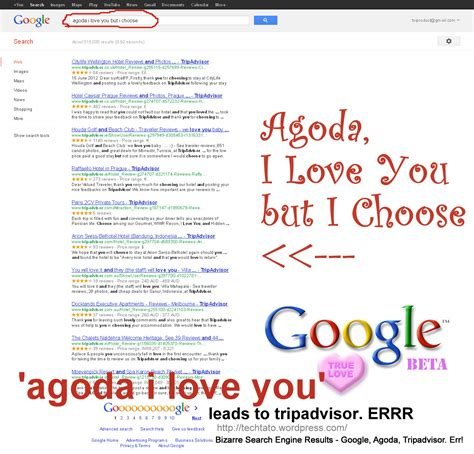 google images i love you i love you but i choose google google agoda tripadvisor