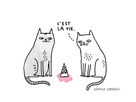 Gemma Correll And Her Merry Band Of Misfits In The Cest La Vie Ideas