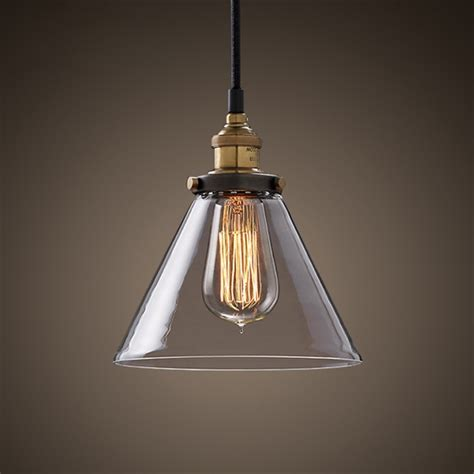 simple pendant light in stock ceiling lights retro simple clear glass pendant