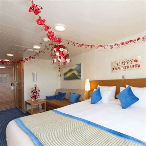 Cruise Cabin Decorations by Carnival S Happy Anniversary Cabin Decorations Hubby