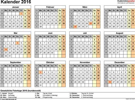 Word Vorlage Kalender 2016 Kalender 2016 In Word Zum Ausdrucken 16 Kostenlose Vorlagen