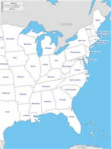 us east coast political map east coast of the united states free map free blank map