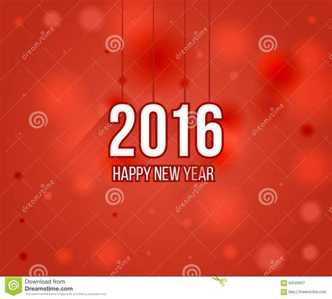 creative new year greeting cards happy new year 2016 creative greeting card design stock