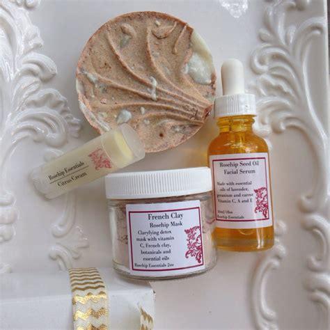 Organic Handmade Cosmetics - rosehip essentials rosehip kit handmade