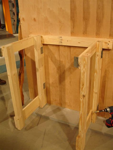 fold out work bench how to make a fold down workbench how tos diy