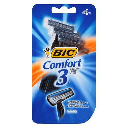 Bic Comfort 3 Sensitive For Men Disposable Shaver Walgreens