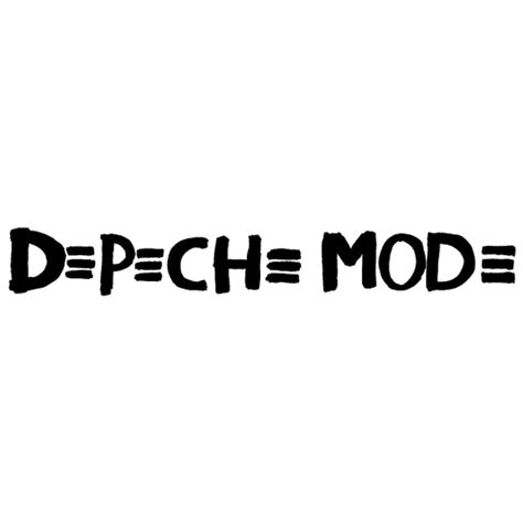 Auto Sticker Depeche Mode by Sticker Depeche Mode Logo