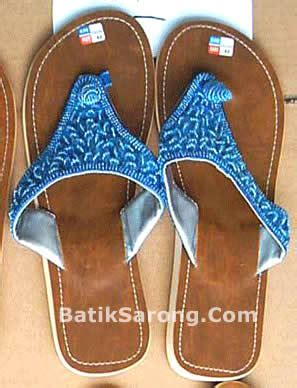 house shoes producer beaded sandals made in indonesia
