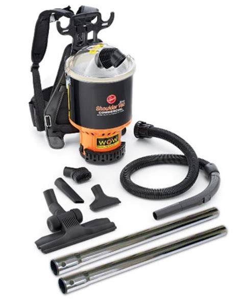 hoover commercial vacuum cleaner shoulder vac pro bagless import it all