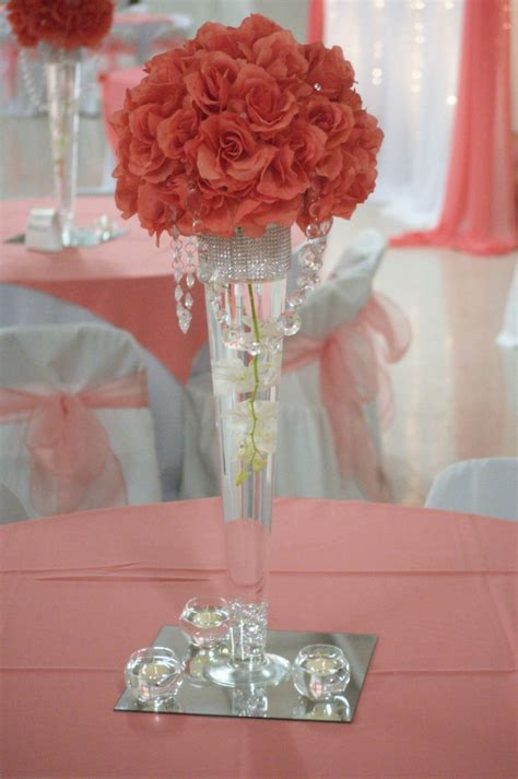 16 best coral wedding decor images on coral weddings decor wedding and coral