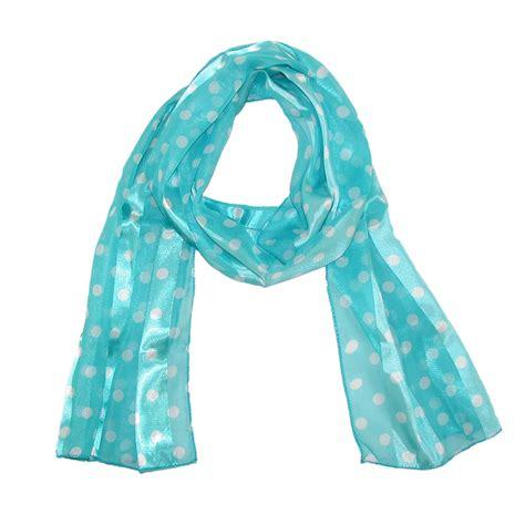 Polka Dot Scarf womens satin polka dot scarf by ctm 174 fashion scarves