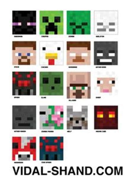 printable minecraft zombie mask 1000 images about playfulmatters minecraft on pinterest