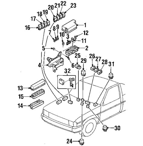 nissan frontier parts diagram 1998 nissan frontier parts mileoneparts