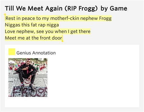 There S A Place Of Rest Lyrics Rest In Peace To My Motherf Ckin Nephew Frogg Niggas This Rap Nephew See You